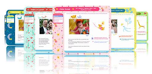créez le blog de mon bébé ou le blog de mon mariage
