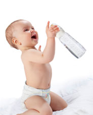 Bébé a besoin d'eau