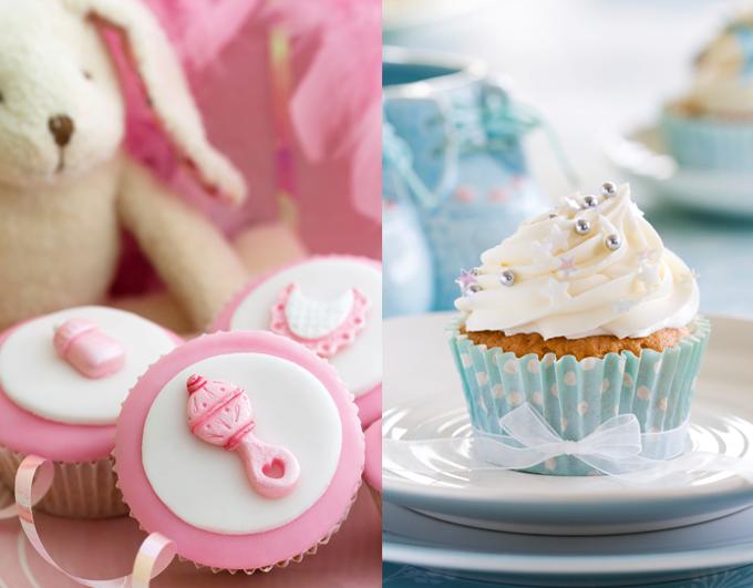 la « gender reveal party » : un gâteau pour dévoiler si c'est une