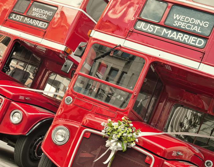 Mariage thématique Londres
