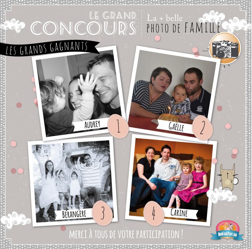 Concours Photo De Famille
