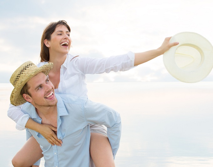voyage de noces couple