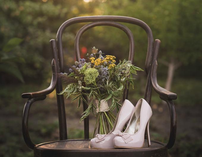 escarpins mariée