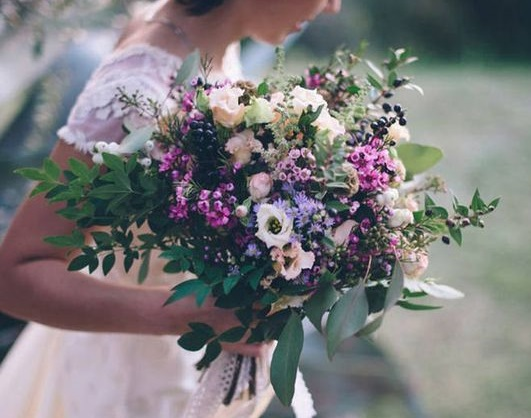 fleurs mariée