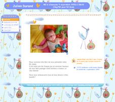 Créez votre blog naissance...