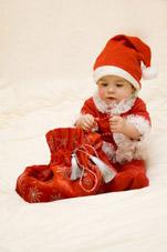 Son premier Noël...un moment plein d'émotions !