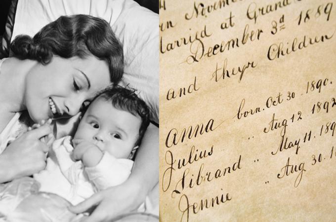 Origine du faire-part de naissance