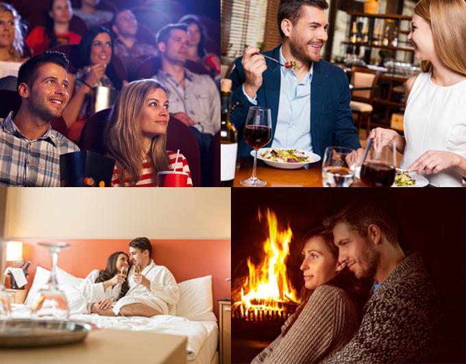 Restaurant, cinéma, nuit à l'hôtel, des idées qui peuvent sauver votre Saint-Valentin