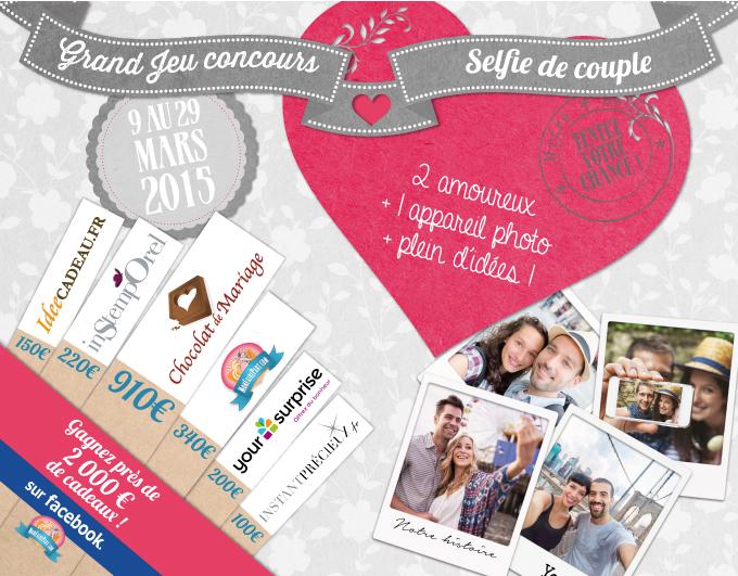 Concours selfie de couple