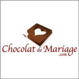 logo chocolat de mariage